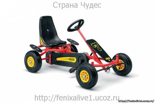 Как сделать детскую машину с педалями 892